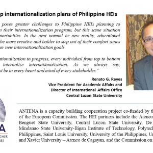 Pandemic to stir up internationalization plans of Philippine HEIs